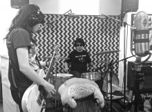 Dirty Ghosts in studio