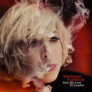 Marianne Faithfull Give My Love To London sleeve