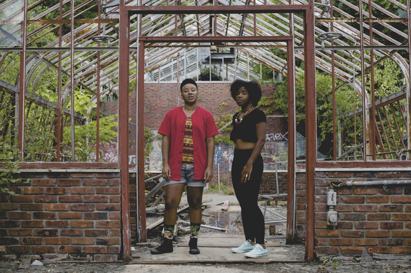 THEESatisfaction Band Photo